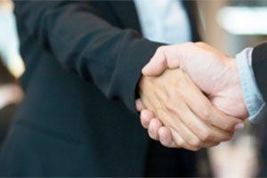 Contact Handshake